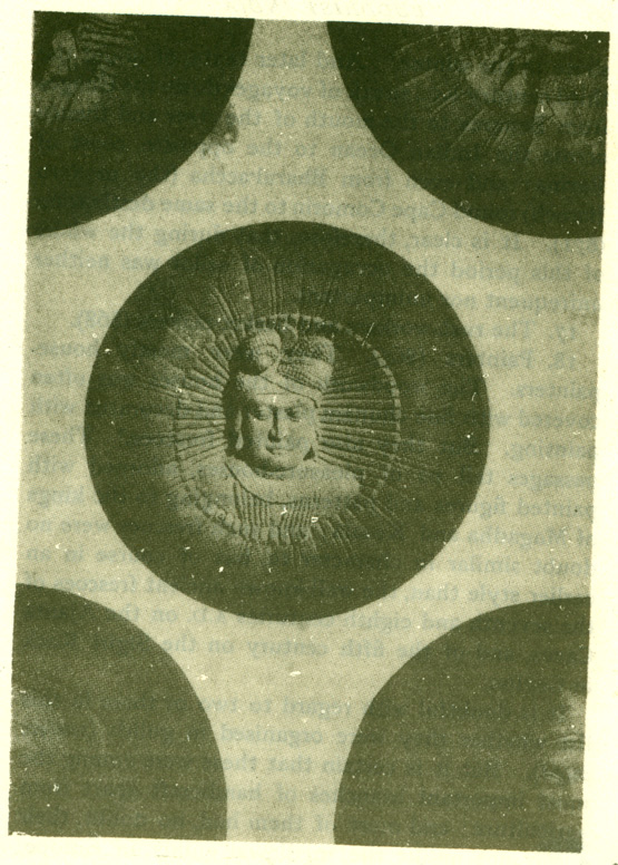 Fig. 21 Medallion on the Bharahut tope.