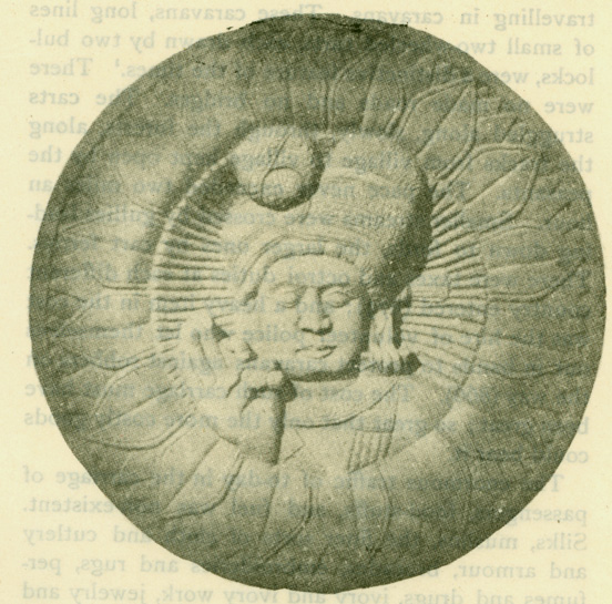 Fig. 22 Ancient Indian Head-Dress.